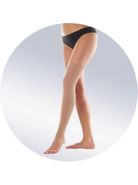 Бандаж-чулок на одну ногу, укороченный арт. 502