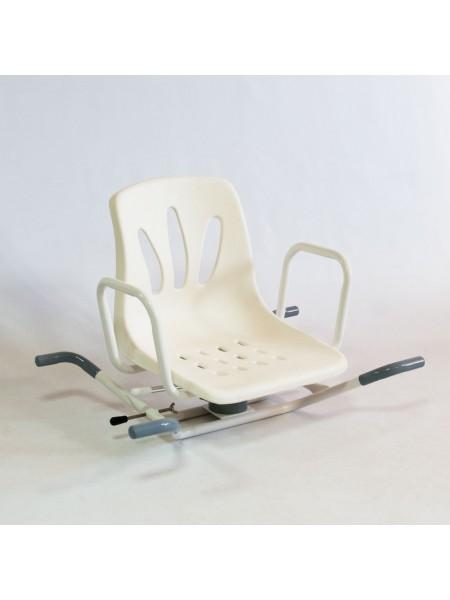 Сиденье на ванну с поворотным механизмом